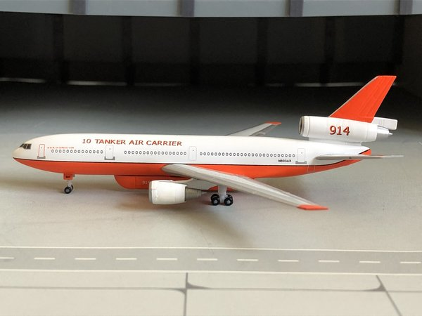 "Herpa 529082-001 DC-10-30 ""10Tanker Air Carrier"""