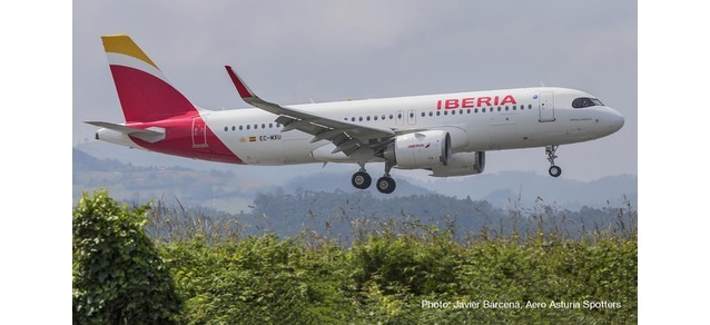 "Herpa 533027 Airbus A320neo ""Patrulla Aguila"""