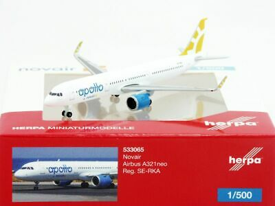 Herpa 533065 Airbus A321 neo Novair