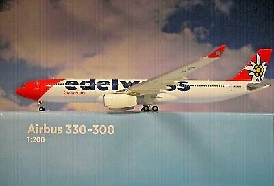 Herpa 558129-001 Airbus A330-300 Edelweiss Air