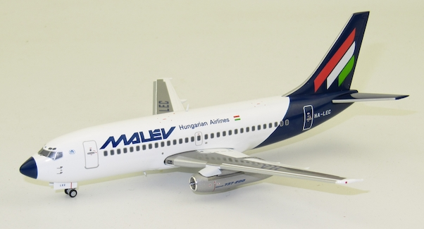 Herpa 559782 Boeing 737-200 Malev Hungarian Airlines