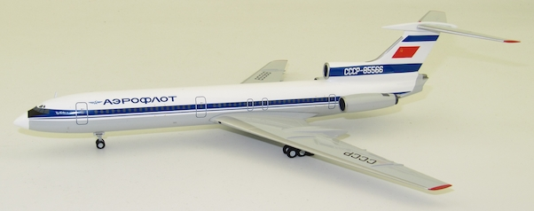 "Herpa 559812 Tupolev TU-154B-2 Aeroflot ""Blue tail livery"""