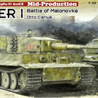 Dragon 6888 Tiger I Mid-Production w/Zimmerit Otto Carius