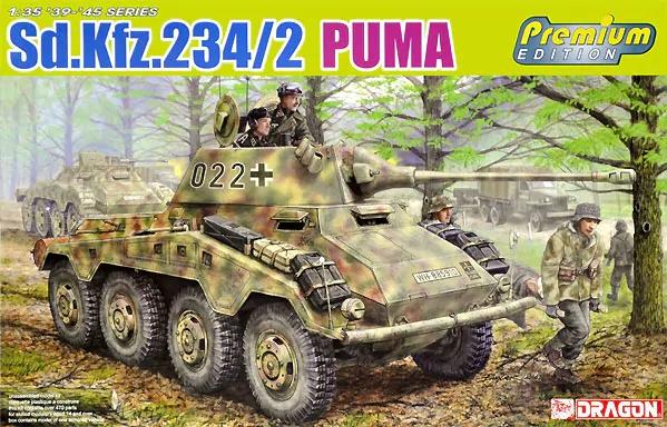 Dragon 6943 Sd.Kfz.234/2 Puma (Premium Edition)