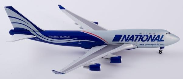 Herpa 518819-001 Boeing 747-400CF National Air