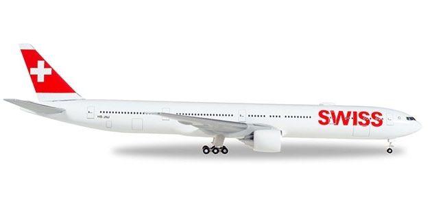 Herpa 529136-002 Boeing 777-300ER Swiss Inernational