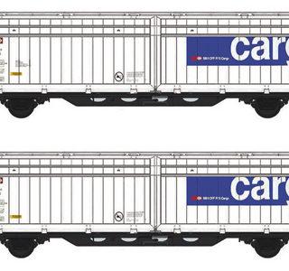 Mabar 86510 Set di 2 carri SSB Cargo