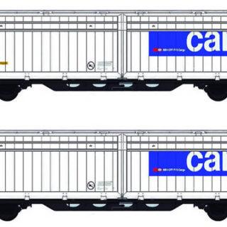 Mabar 86511 Set di 2 carri SSB Cargo