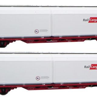 Mabar 86513 Set di 2 carri OBB Railcargo