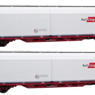 Mabar 86513 Set di 2 carri OBB Railcargo