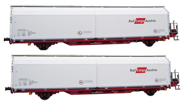 Mabar 86514 Set di 2 carri OBB Railcargo
