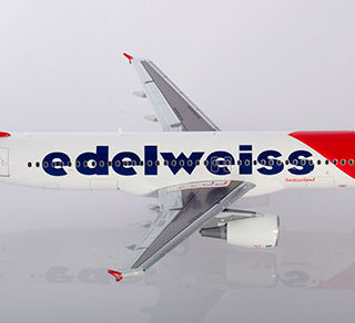 Herpa 559584 Airbus A320 Edelweiss