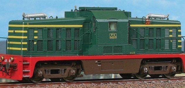 Acme 60259 Locomotiva diesel da manovra FS Ne 120 011