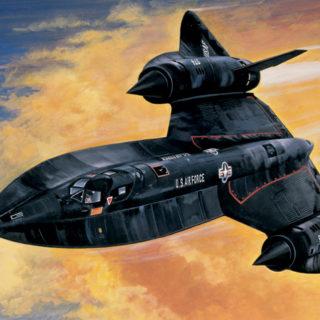 ITALERI 0145 Sr-71 Black Bird