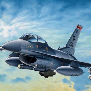 ITALERI 0188 F-16 C/D Night Falcon