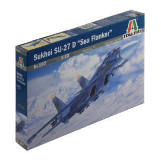 ITALERI 0197 Su-27d Sea Flanker