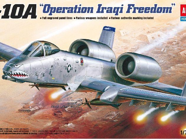 ACADEMY 12402 A-10a Operation Iraqi Freedom