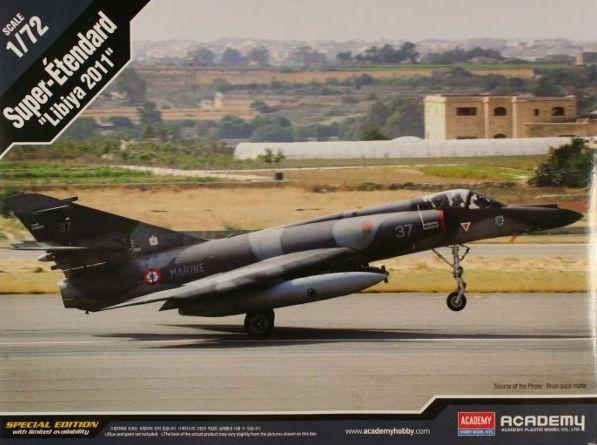 Academy 12431 Super Etendard libya 2011