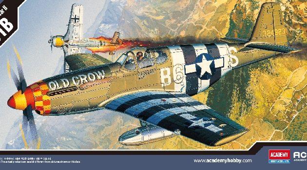 ACADEMY 12464 P-51b Mustang