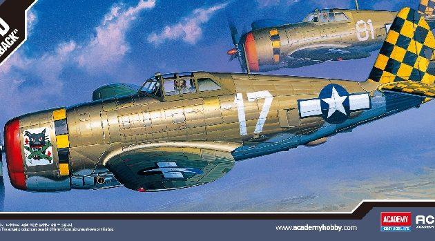 Academy 12492  P-47D THUNDERBOLT