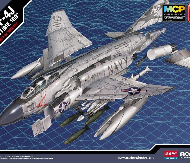 "ACADEMY 12515 USN F-4J VF-96 ""SHOWTIME 100"" MCP"