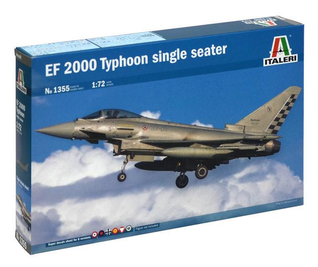 ITALERI 1355 Ef-2000 Typhoon Single Seater