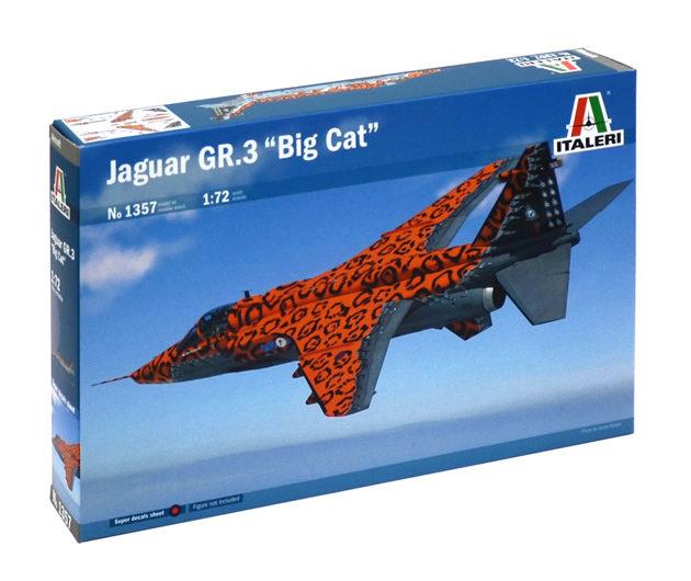 """ITALERI 1357 Jaguar Gr. 3 """"Big Cat"""" Special Colours"""