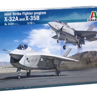 Italeri 1419 1/72 PROJECT JSF X-32 & X-35B
