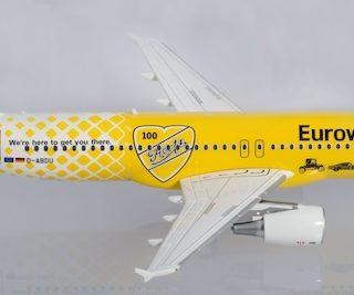 "Herpa 559904 Airbus A320 Eurowings ""Hertz 100 Anni"""