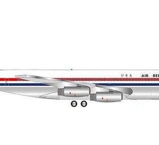 "Herpa 559911 Boeing 707-320-F-BHSF Air Berlin USA ""Palma"""