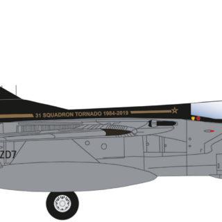 Herpa 570527 Panavia Tornado GR.4 No 31 Squadron