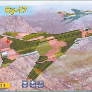 Modelsvit 72018 SUKHOI SU-17 SERIAL