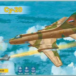 Modelsvit 72020 SUKHOI SU-20 W/KH 28 MISSILE