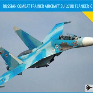Zvezda 7294 Sukhoi SU-27 UB