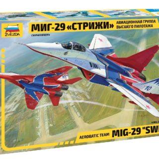 Zvezda 7310 MIG-29 SWIFTS AEROBATIC TEAM