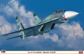 HASEGAWA HA01995 SU-27 FLANKER SHARK TEETH