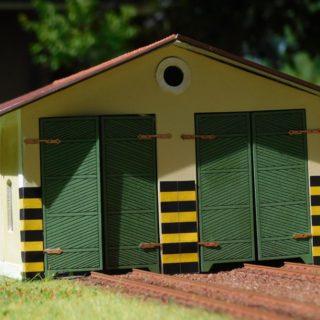 Magic-Train E005 Rimessa locomotori a 2 posti