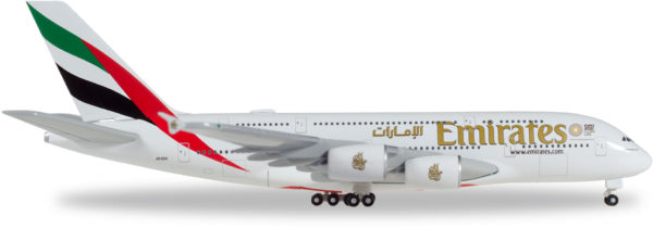 "Herpa 514521-005 Airbus A380 ""Emirates"""