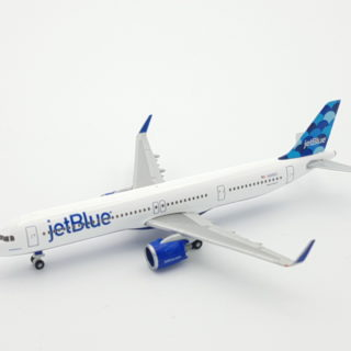 """Herpa 533805 Airbus A321neo JetBlue Airways """"Balloons"""" tail design"""