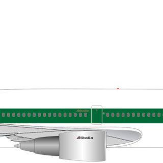Herpa 534277 McDonnell Douglas DC-30 Alitalia  50th anniversario