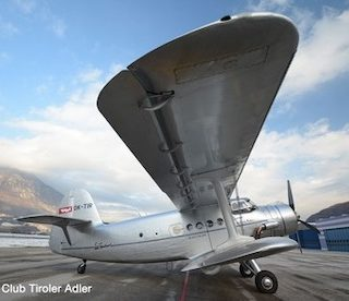 """Herpa 570831 Antonov AN-2Tiroler Adler """"Luis Trenker"""""""