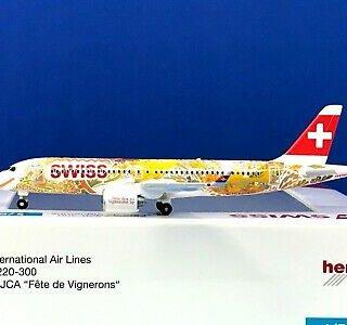 "Herpa 533584 Airbus A200-300 ""Fète des Vignerons"""
