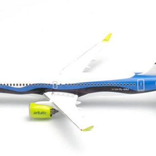 "Herpa 533942 Airbus A220-300 airBaltic ""Estonia"""