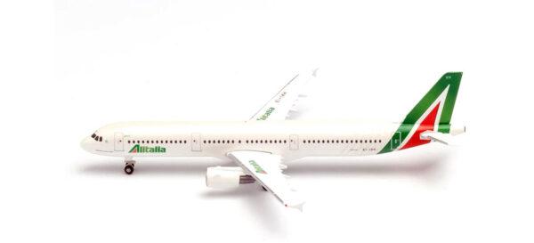 Herpa 533959 Airbus A321 Alitalia piazza della Signoria GUBBIO
