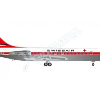 "Herpa 534062 Caravelle SE-210 Swissar Sud Aviation ""Uri"""
