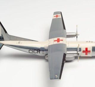 Herpa 570701 Transal C-160 Balair Croce Rossa Internazionale