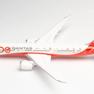"Herpa 570756 Boeing 787-9 Dreamliner 100TH Anniverary ""Longreach"""
